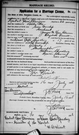 Marriage register