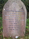 Gravestone William Dixon van Blarcom